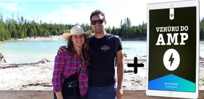Kniha Vzhůru do AMP v Yellowstonu