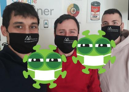 Marketing Makers tým připravený na koronavirus
